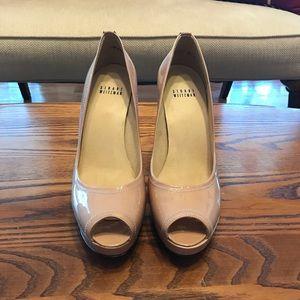 Stuart Weitzman peep toe shoes
